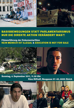 Kein Mensch ist illegal / Education Is Not For Sale